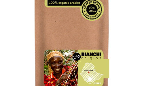 Bianchi Origins Ethiopia Bio beans