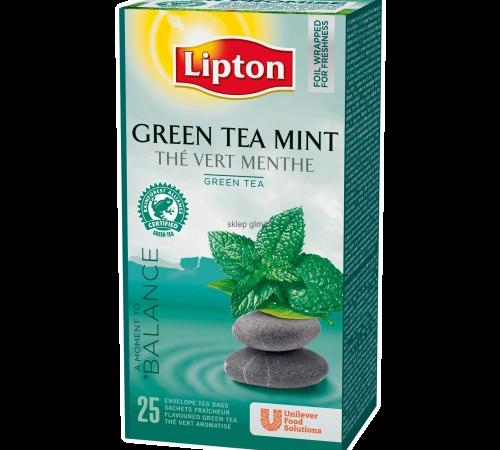 Зелен чай с мента