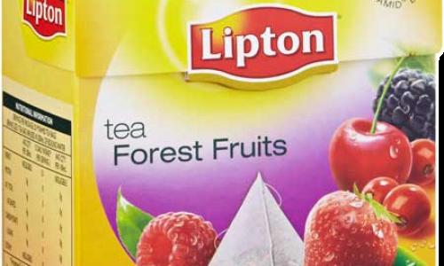 Горски плодове-черен чай