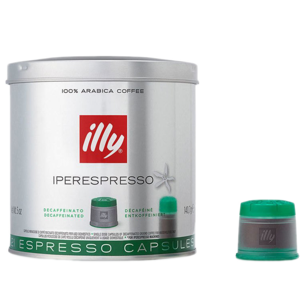 illy Decaffeinated кафе капсули