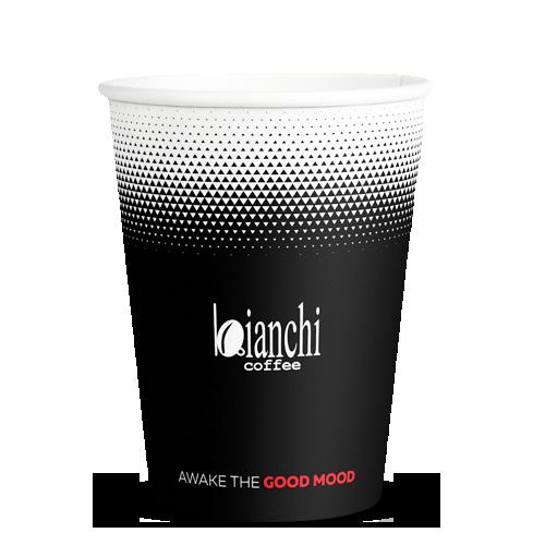 Картонена чашка Бианчи 7 oz