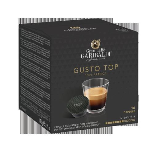 Кафе на капсули GARIBALDI GUSTO TOP DOLCE GUSTO